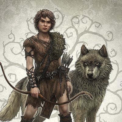 La saga del lupo cover