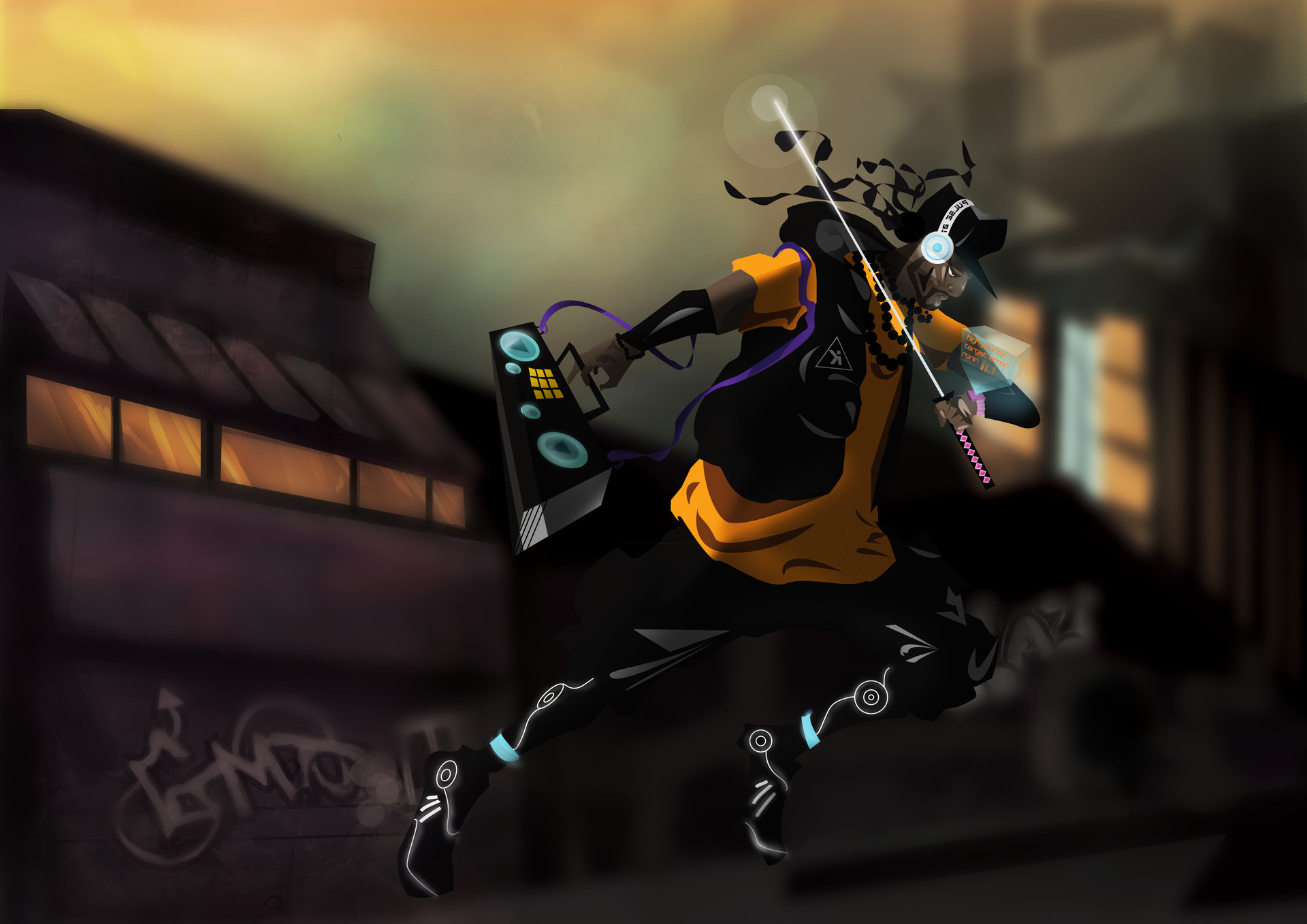 Carlo Bruzzese Urban Samurai