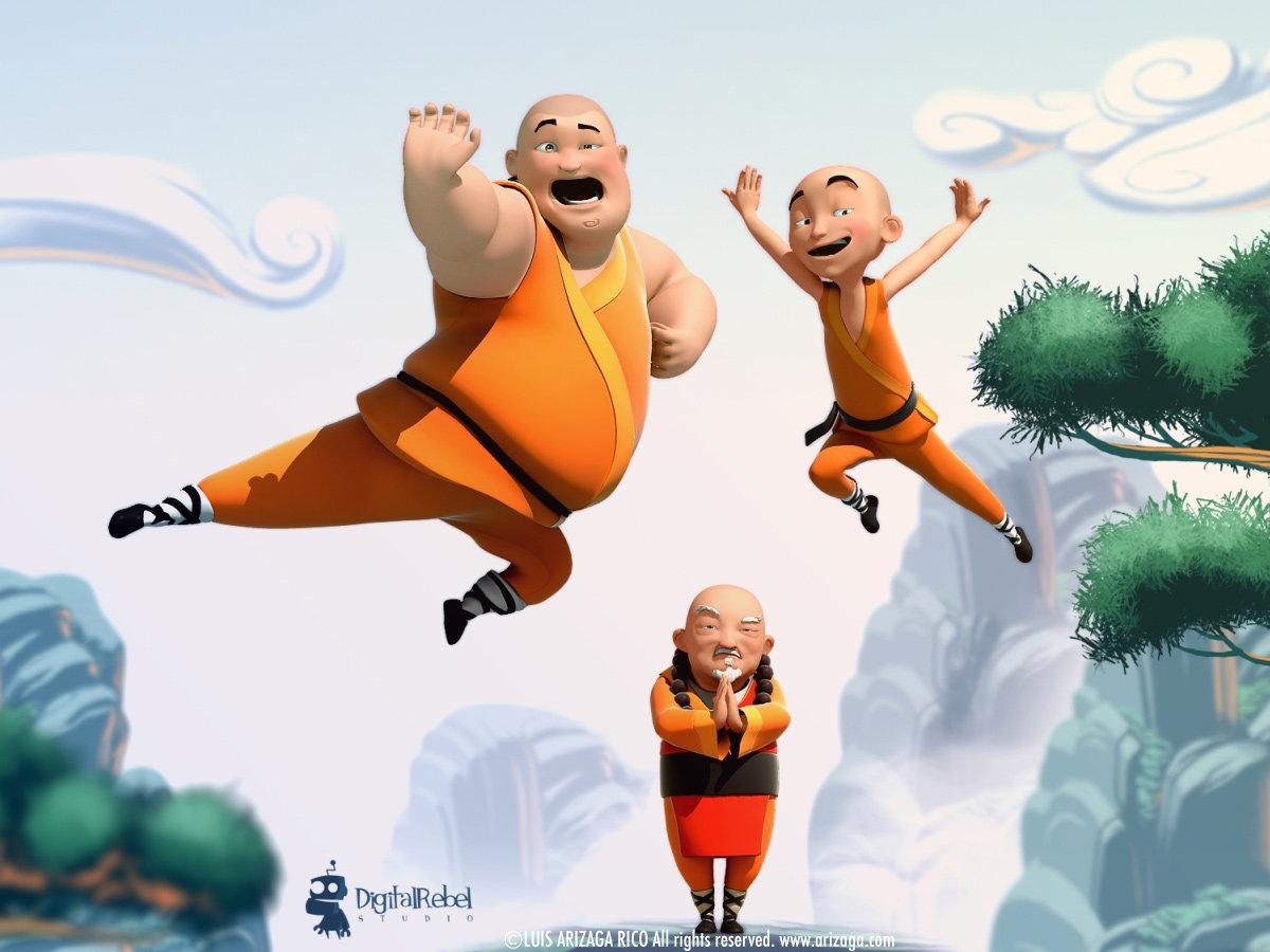 Shaolin cartoon