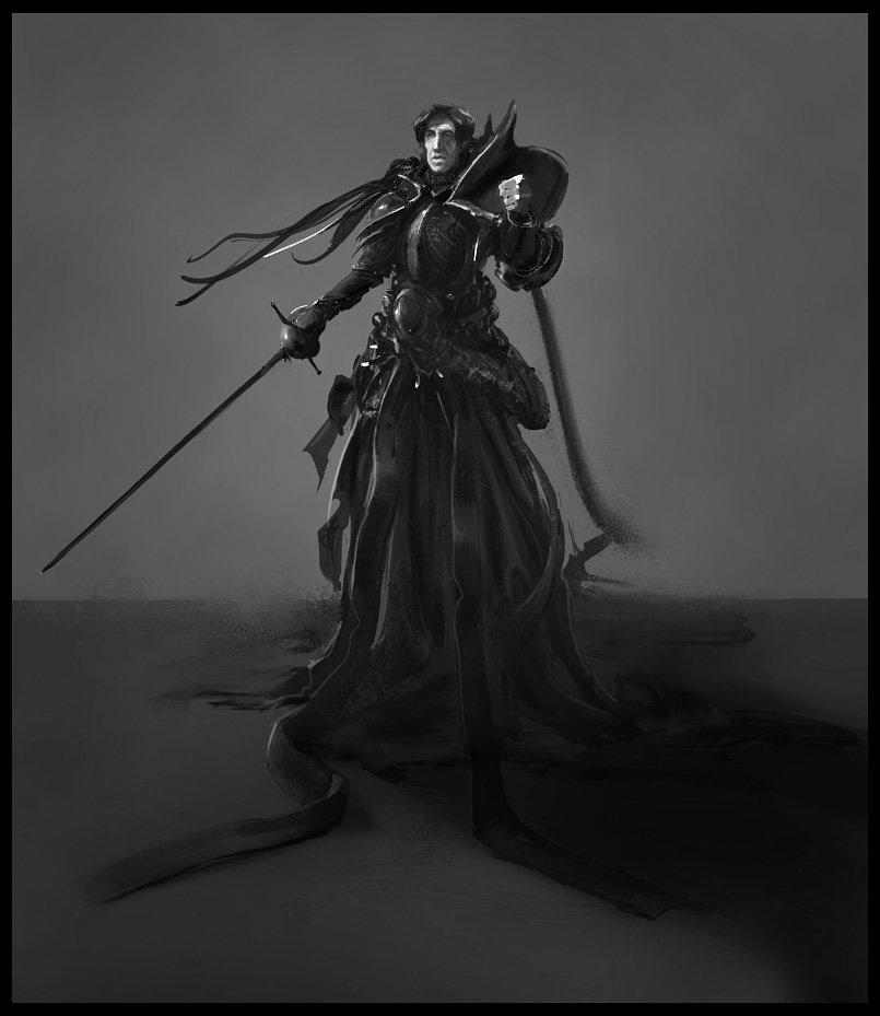 Fantasy Armor Concept Sketch