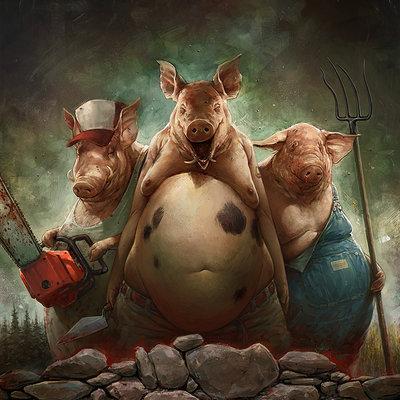 3 little pigs 1200