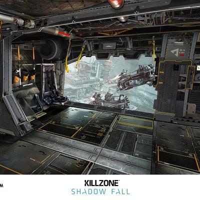 Helghast dropship interior