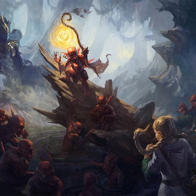 Tale from the Swamps: Forgotten King