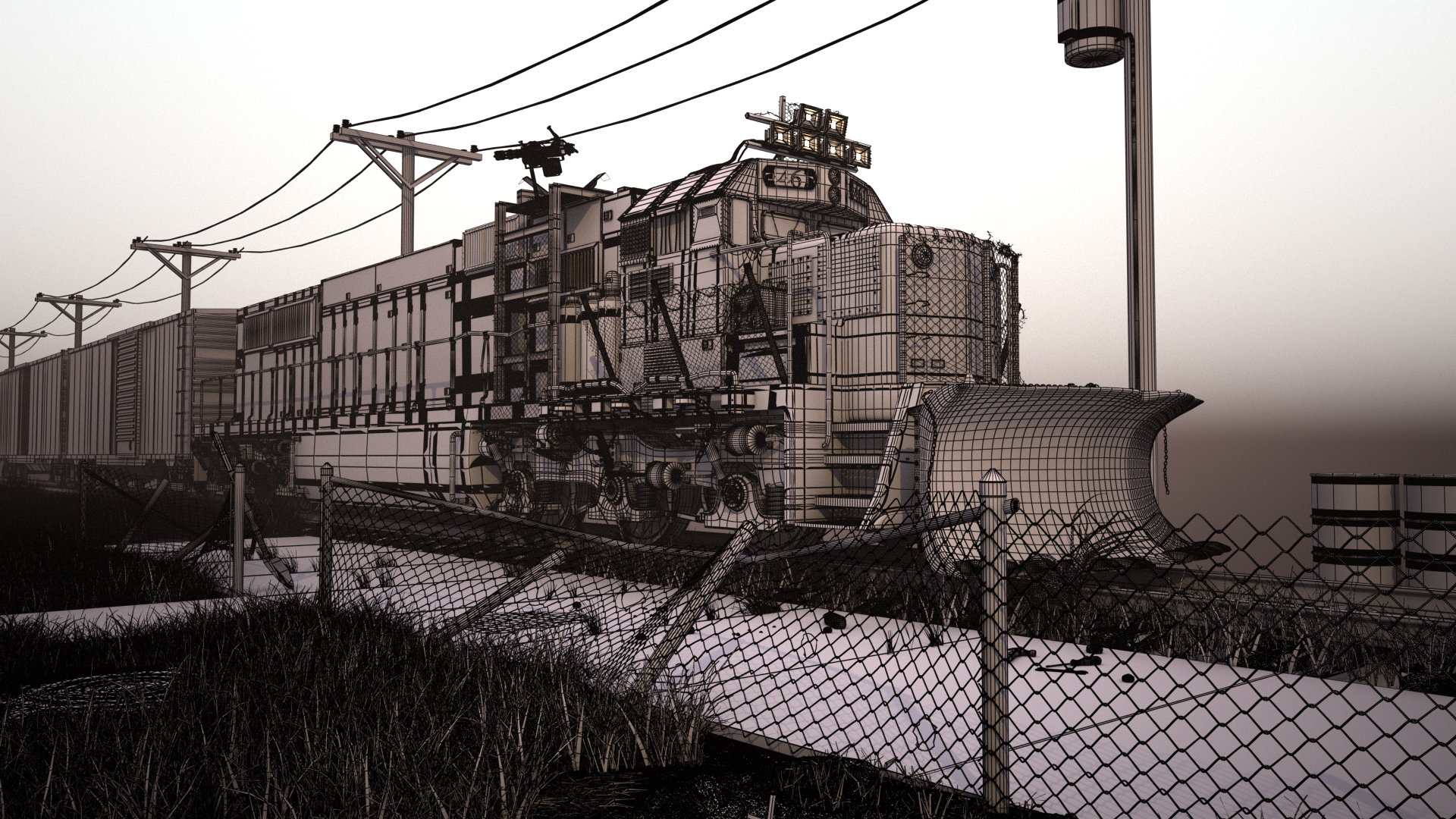 Spencer fitch freighttrainwireframe