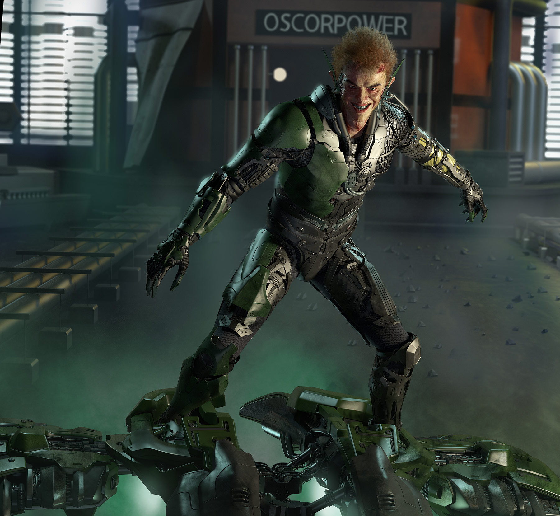 Green Goblin 2014 Suit ArtStation - Green Gob...