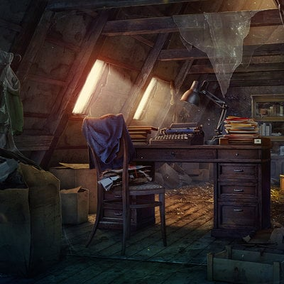 Pavel proskurin attic