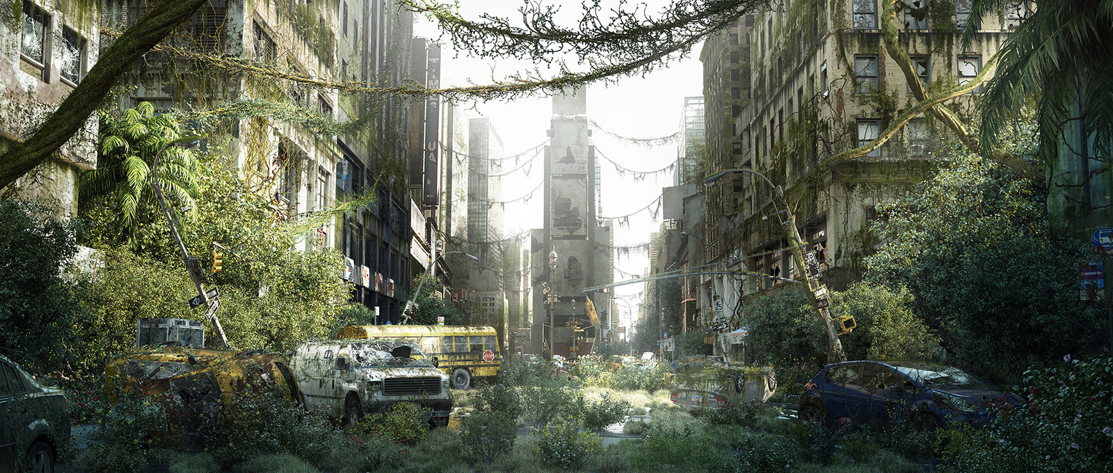 Oasis - Matte painting