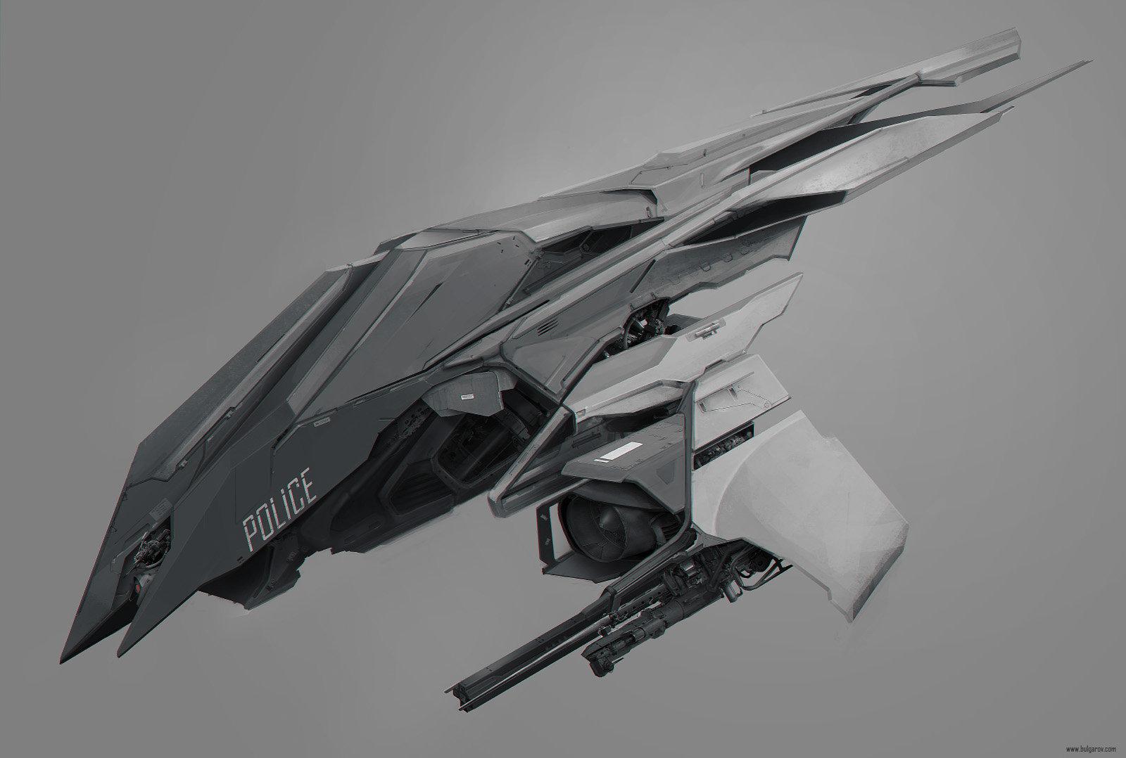 Vitaly Bulgarov Rsv Concept Air Drone Futuristic Design Alien