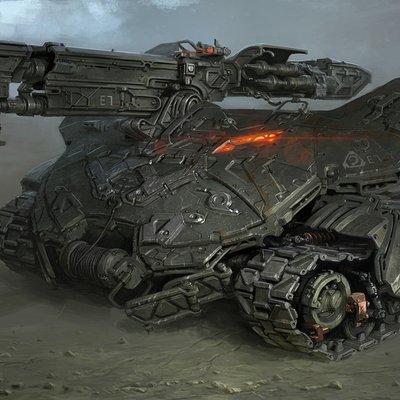 Michal kus nod scorpion tank coloredcg