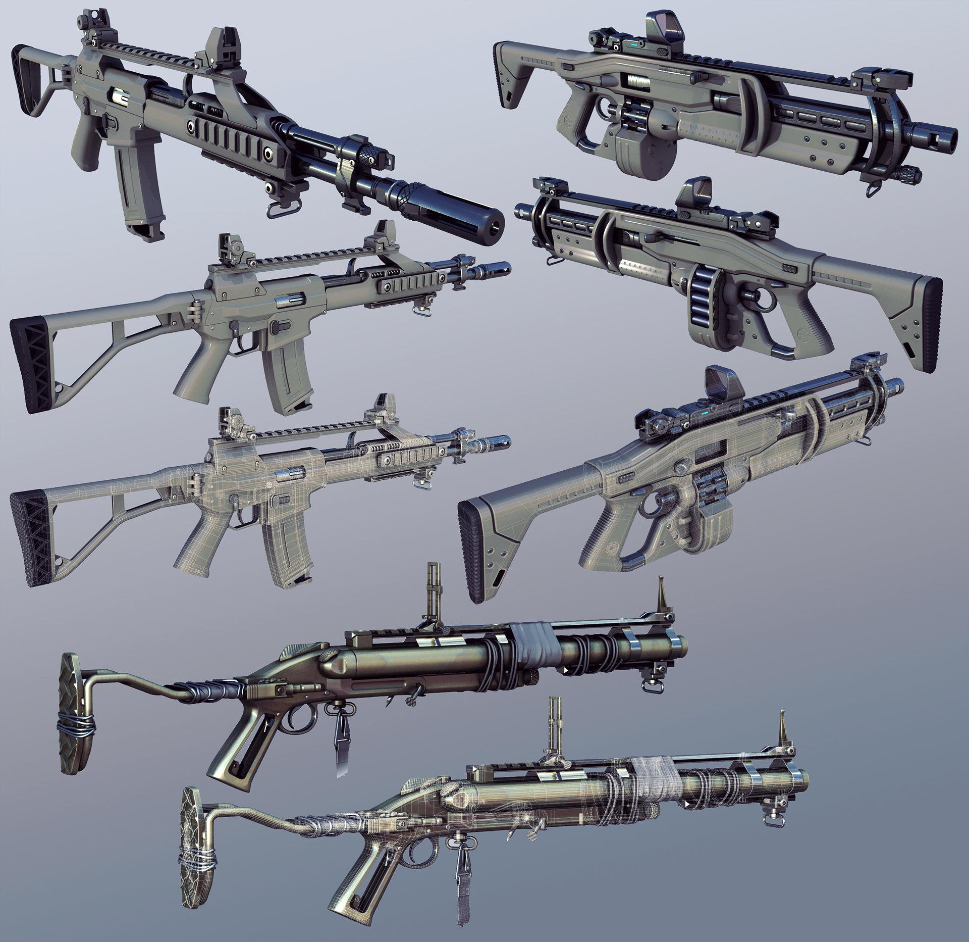 Dmitry popov firearms by jett0 d5ntzio