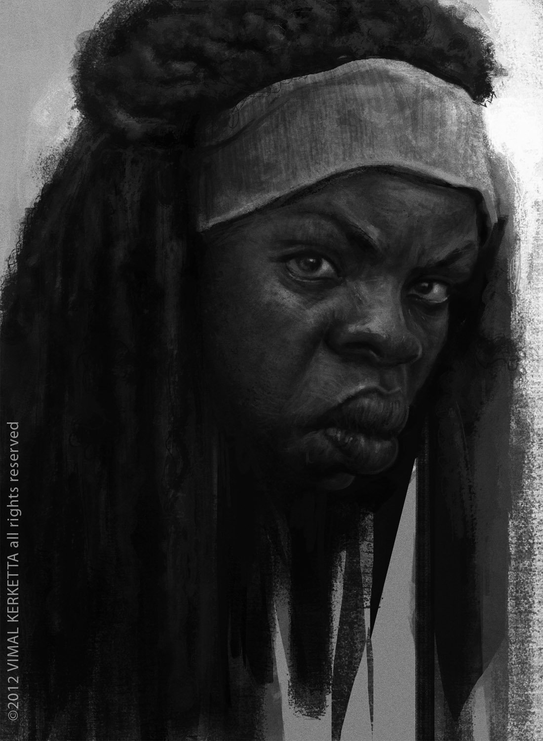 Vimal kerketta michonne
