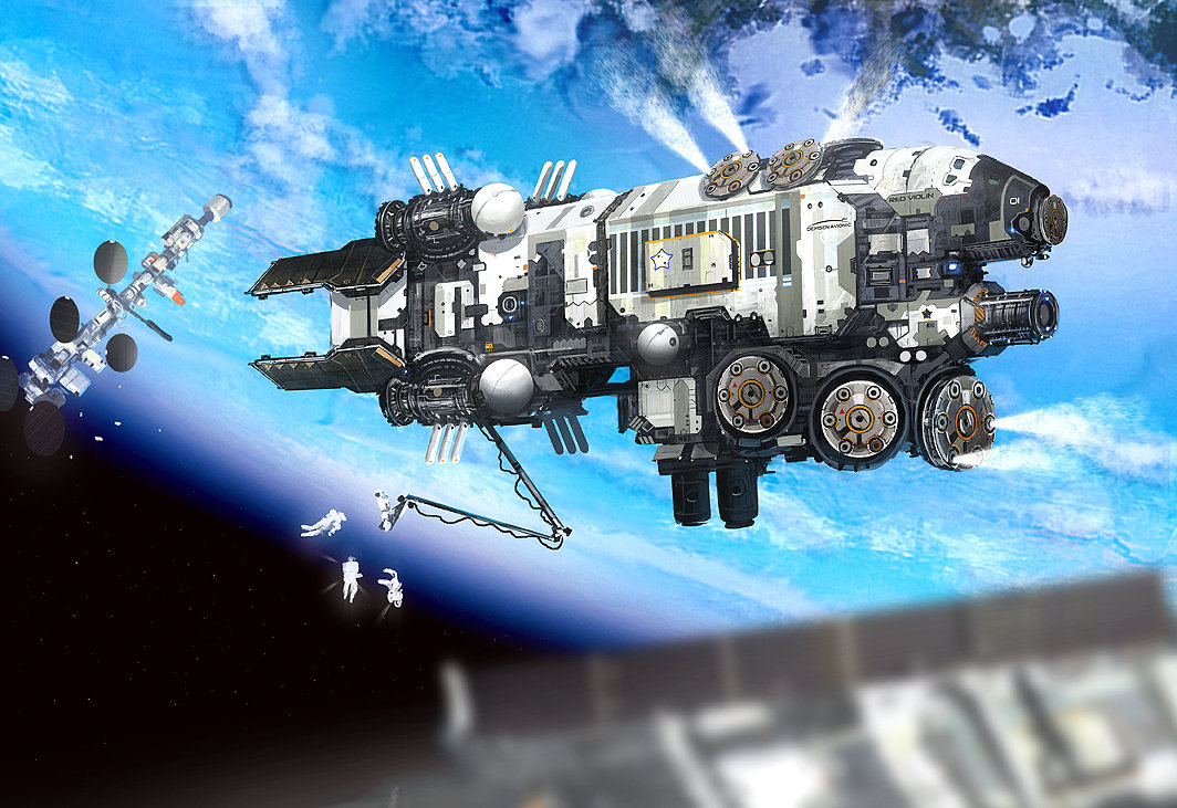 Edouard groult space station high 90