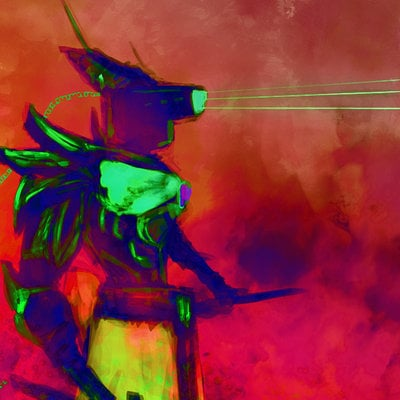 Taha yeasin cyborg samurai