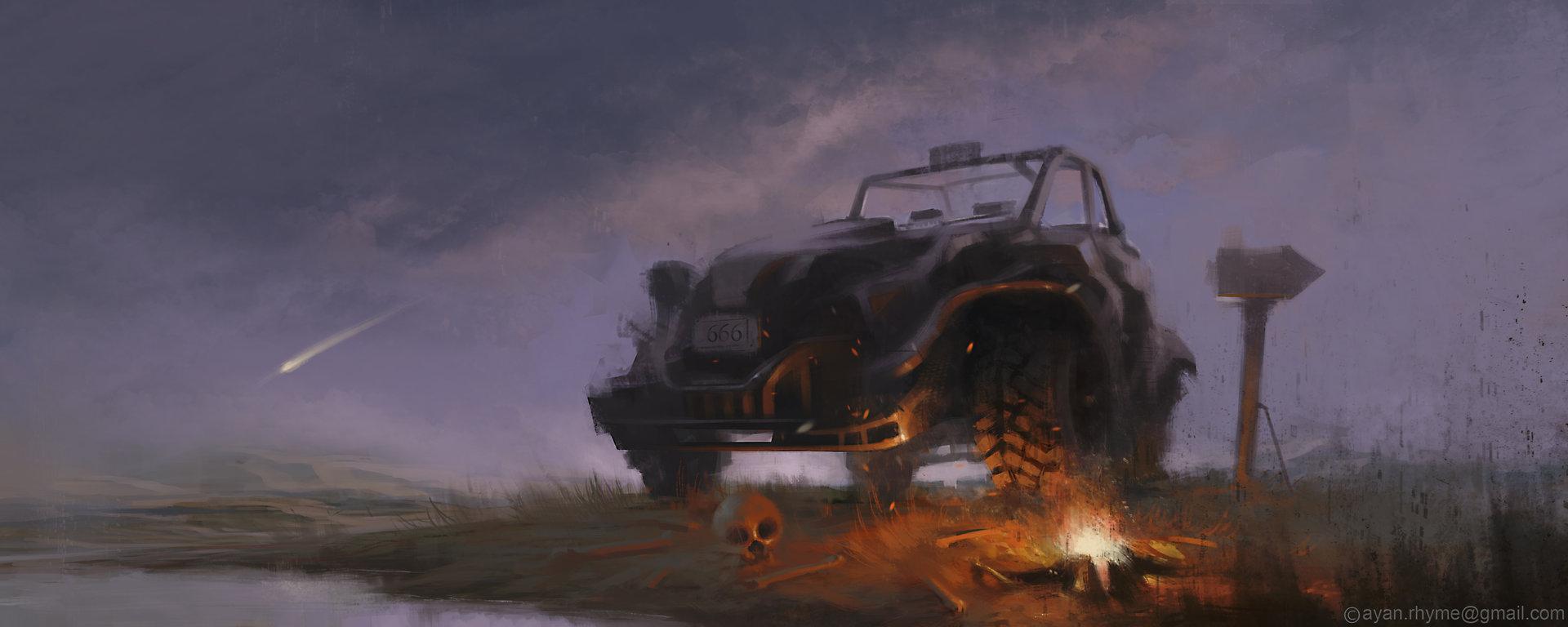 Ayan nag last campfire by ayan nag