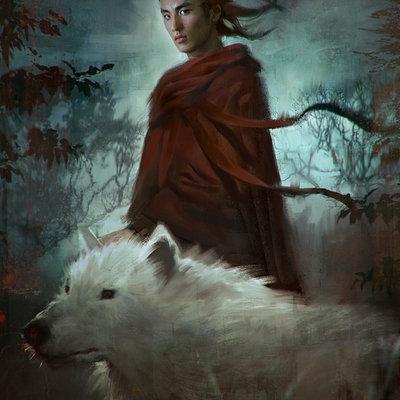 Lius lasahido white wolf