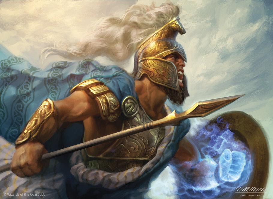 Will murai battlewise hoplite mtg theros willmurai