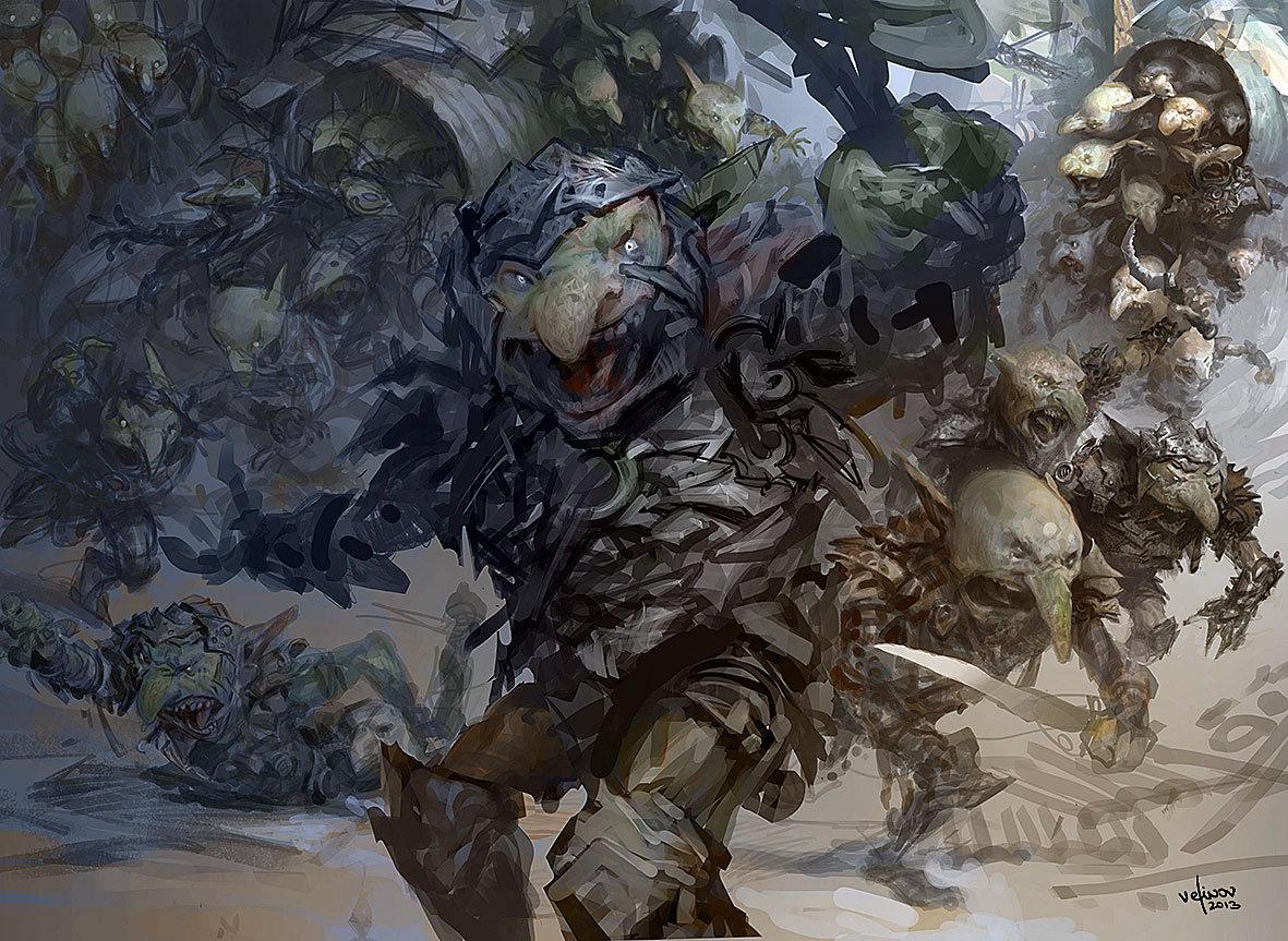 Svetlin velinov goblin rabblemaster wip
