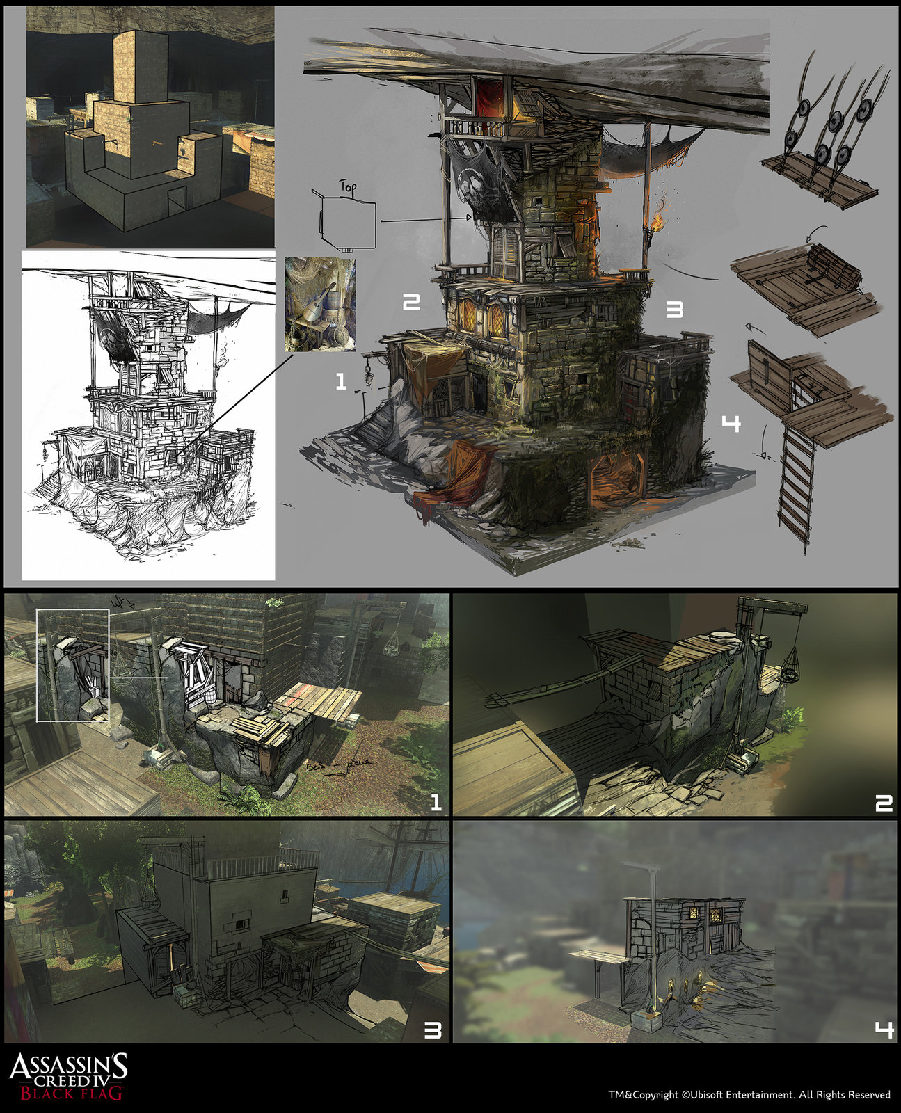 Assassin's Creed IV Black Flag - Saba Island Boss House