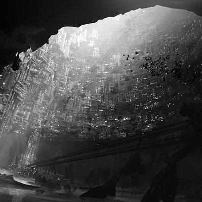 Jacek irzykowski city around giant hole