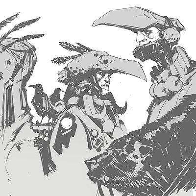 Darren bartley sketches 9