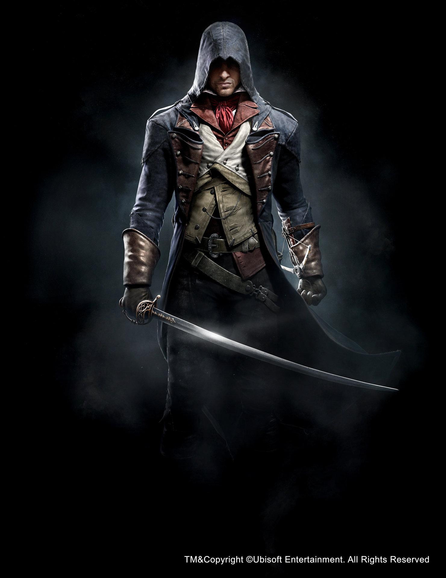Artstation Assassin S Creed Unity Arno Anthony Guebels