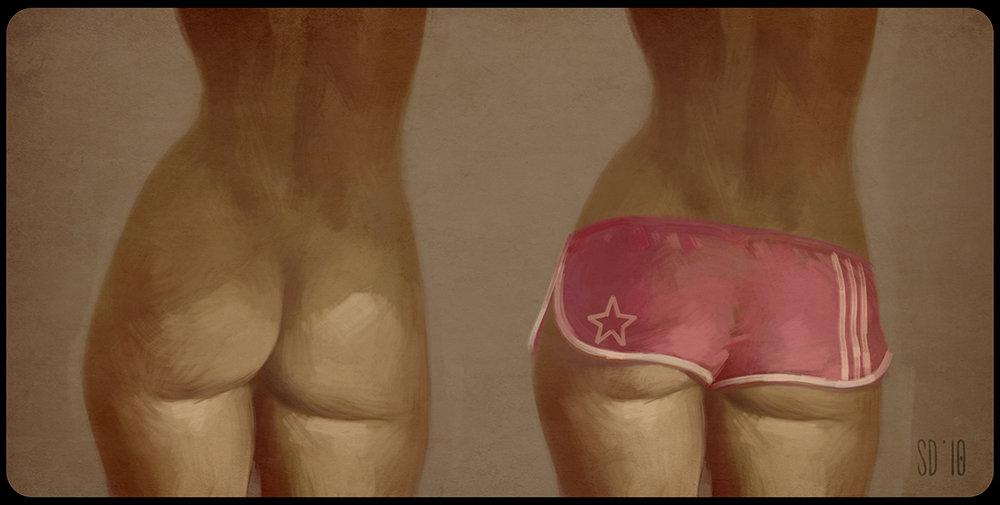 Sergio diaz shorts low