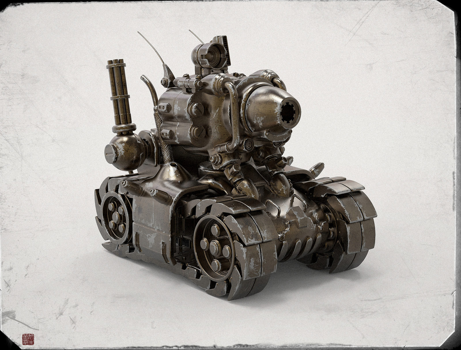 Zhelong xu metal slug 1