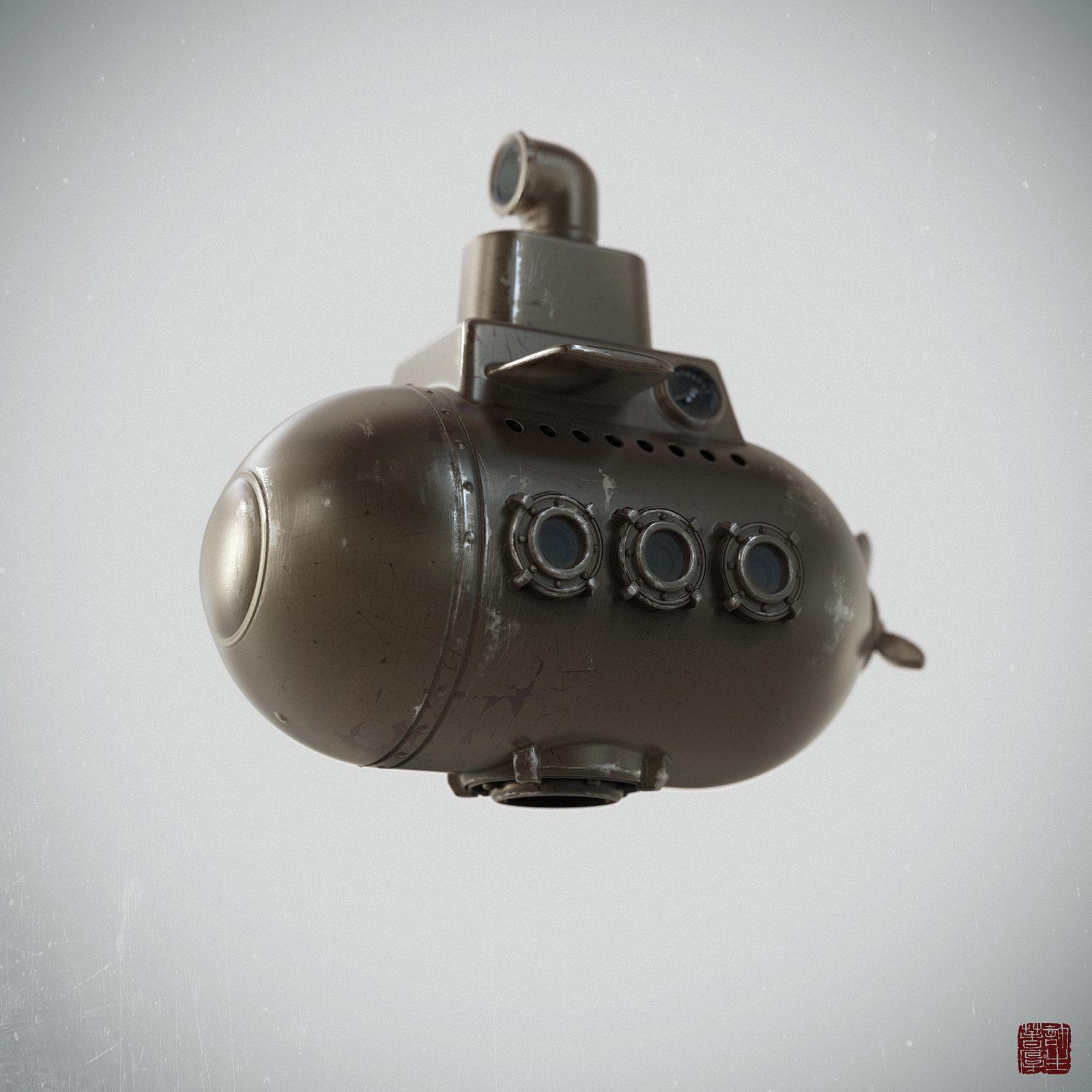 Zhelong xu submarine