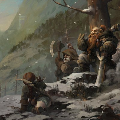 Kan liu game of the hunter