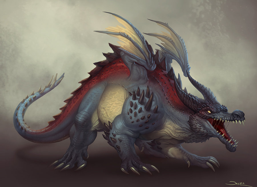 Creature Design: Dragon