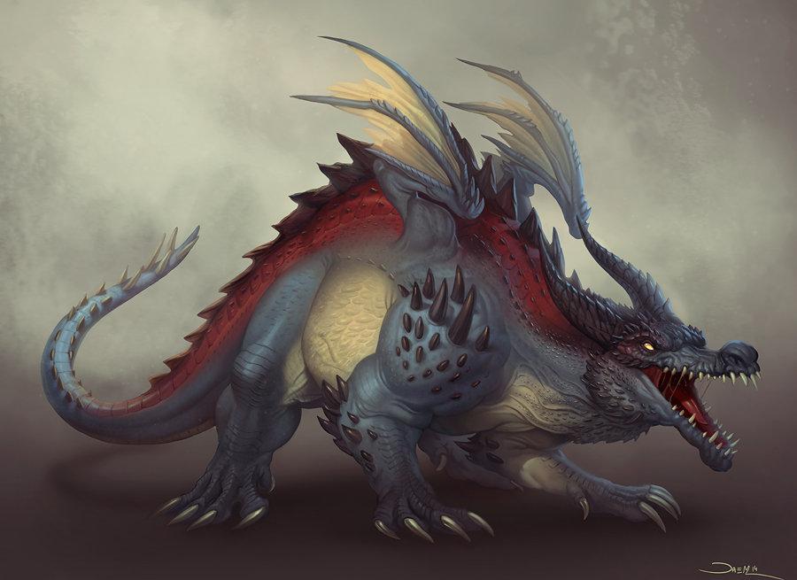 Creature Design: Dragon