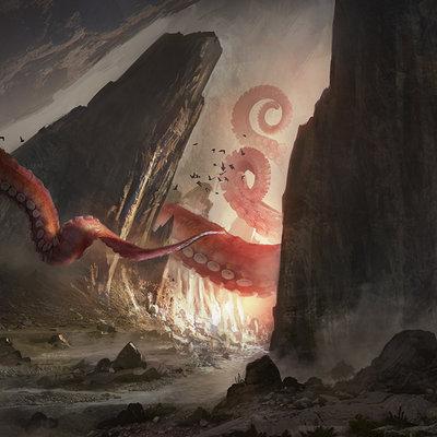 Florent llamas valley monster cg