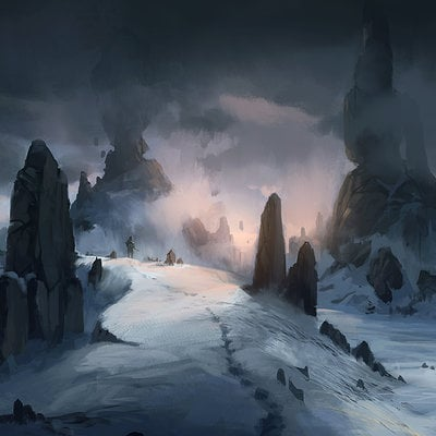 Jorge jacinto snow peaks jorgejacinto