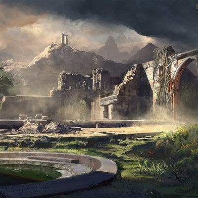 Finnian macmanus acrospar ruins by fmacmanus d7n74n3