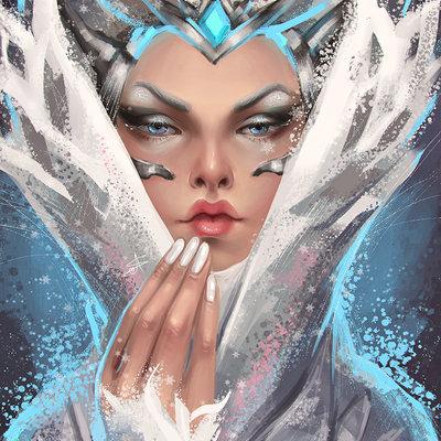 Ayya saparniyazova snow queen