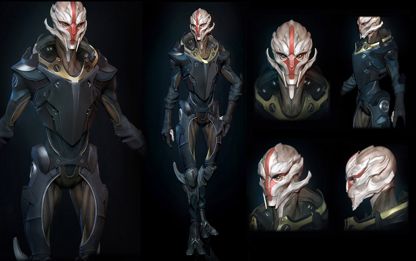 early zbrush concept