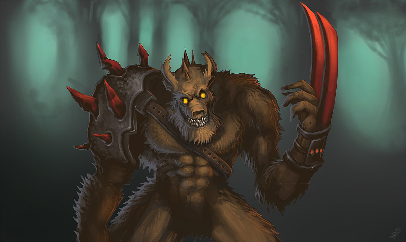 Thul Warrior, 2D
