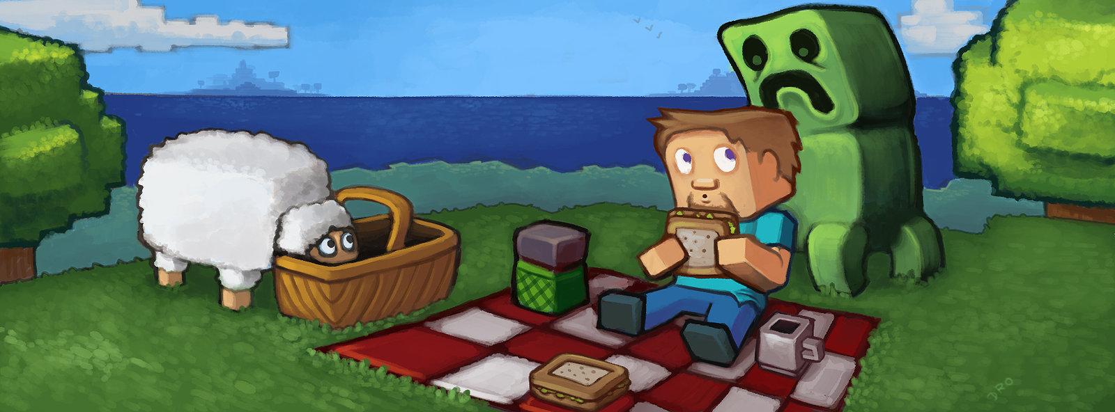 Minecraft Picnic