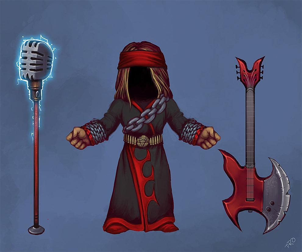 Heavy Metal Robe