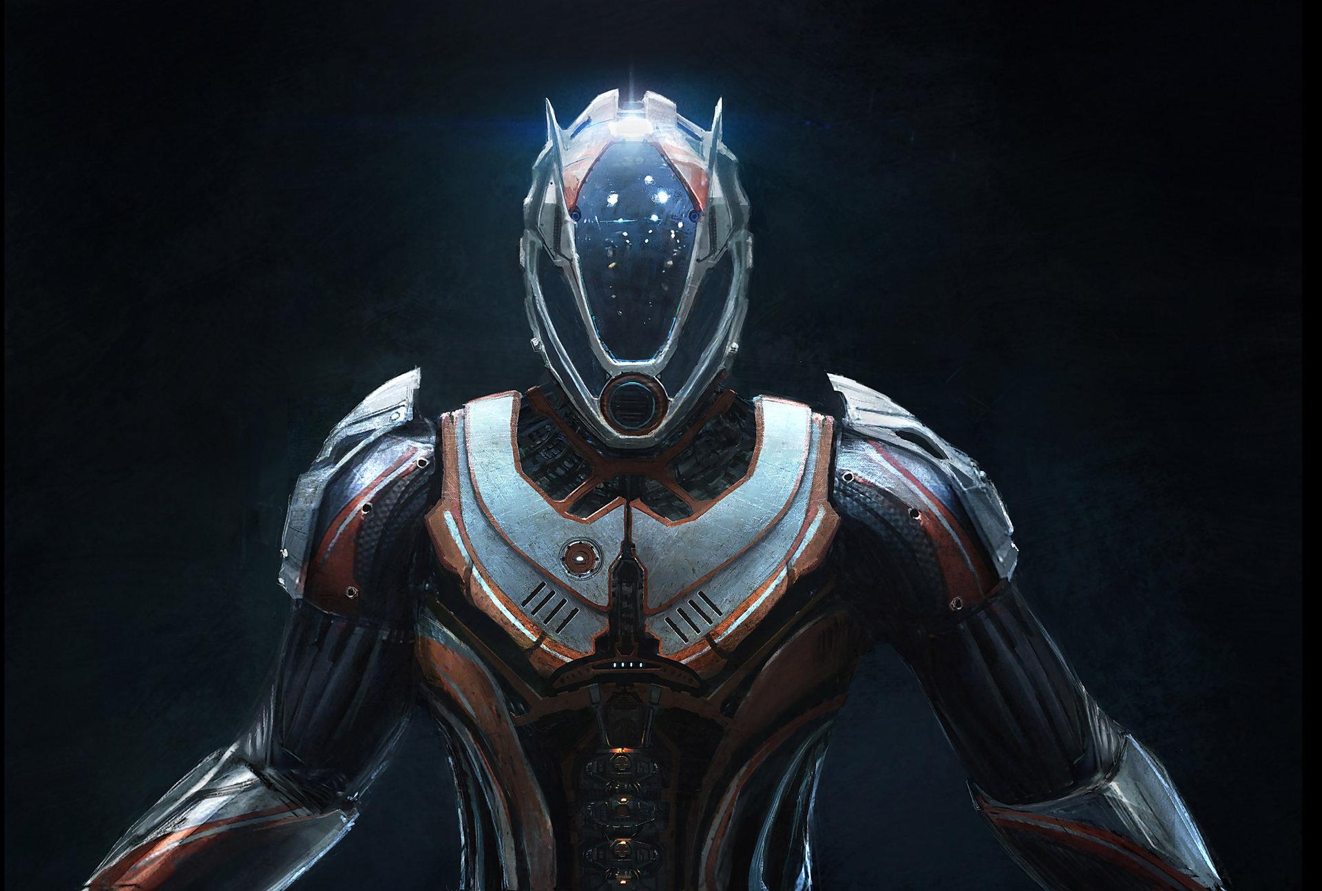 Artstation Power Suit Emmanuel Shiu
