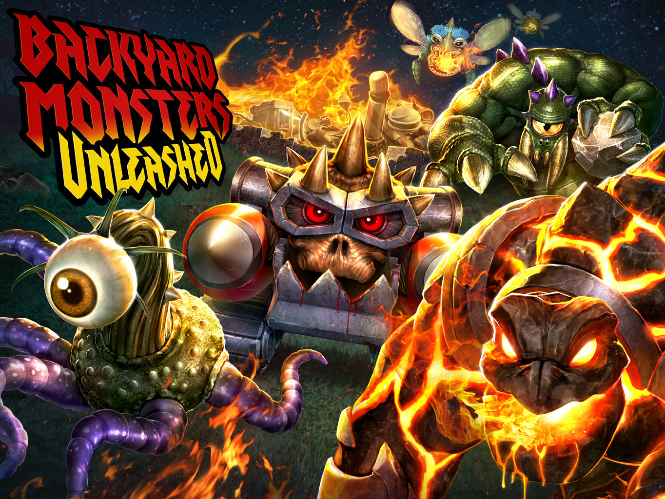 Backyard Monsters Unleashed Key Art