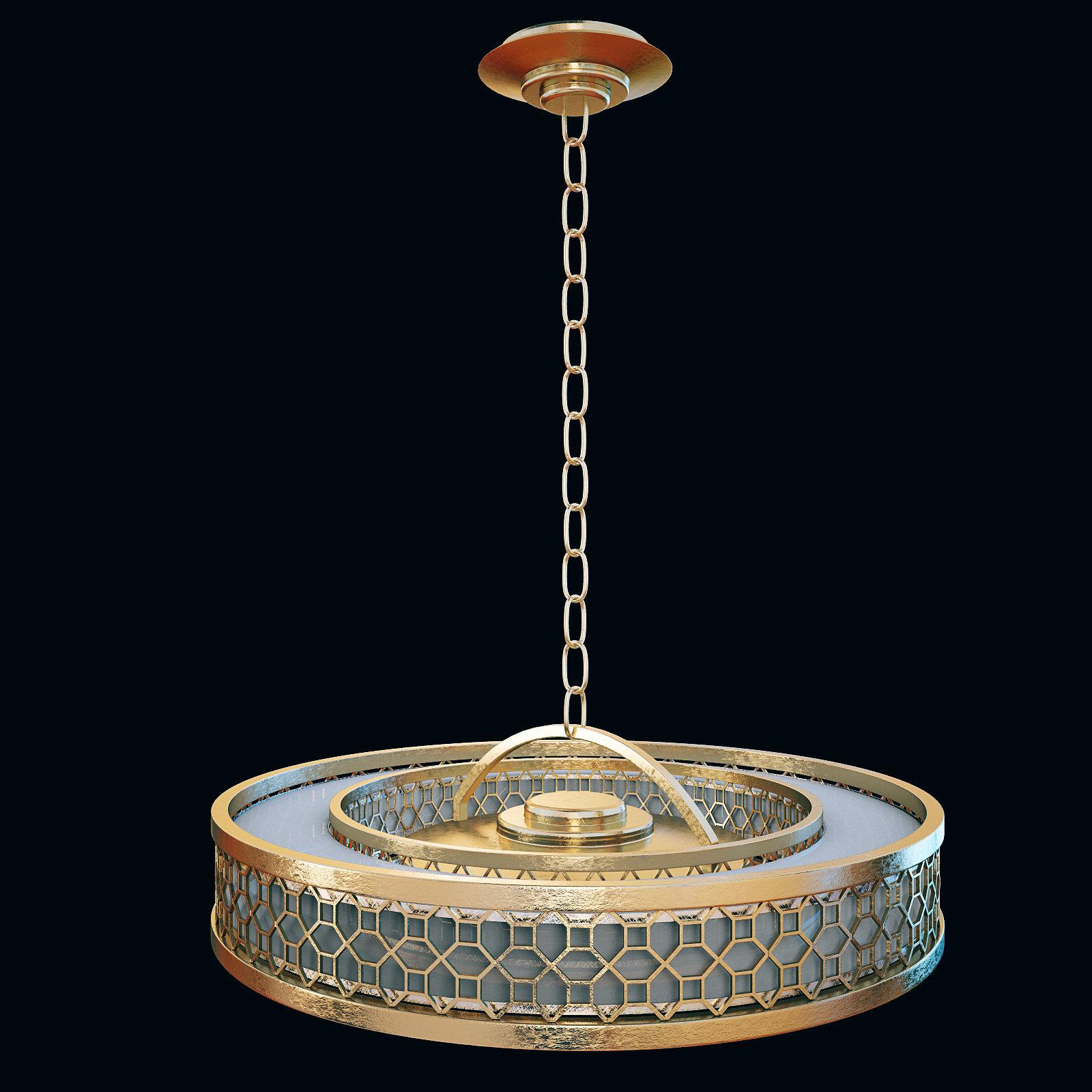 2014 - lustre 816640-2GU FINE ART LAMPS(CGTRADER)