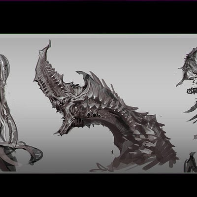 Jeremy chong monster design thumbs sketch banner