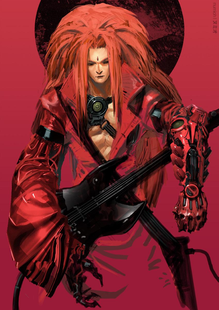 Visual Kei Cyborg Guitarist 1