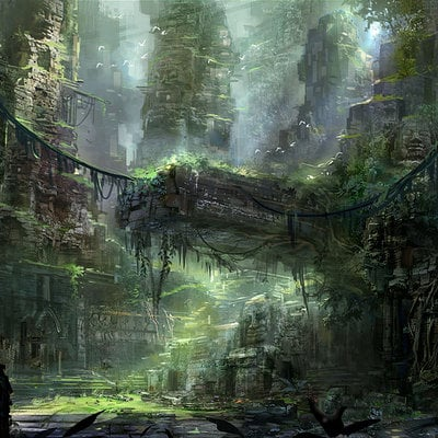 Jeremy chong ancient forest city