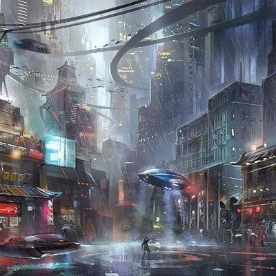 Jeremy chong city sketcj