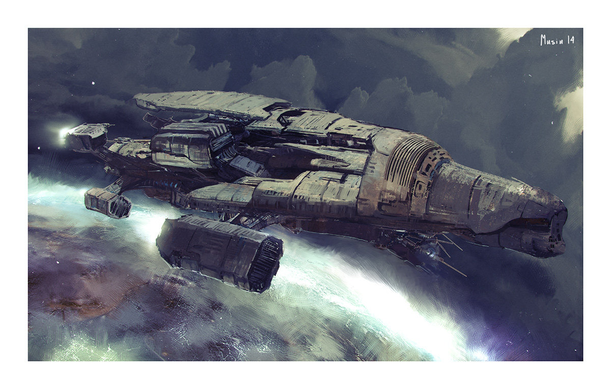 Sergey musin sf spacecraft sketch1