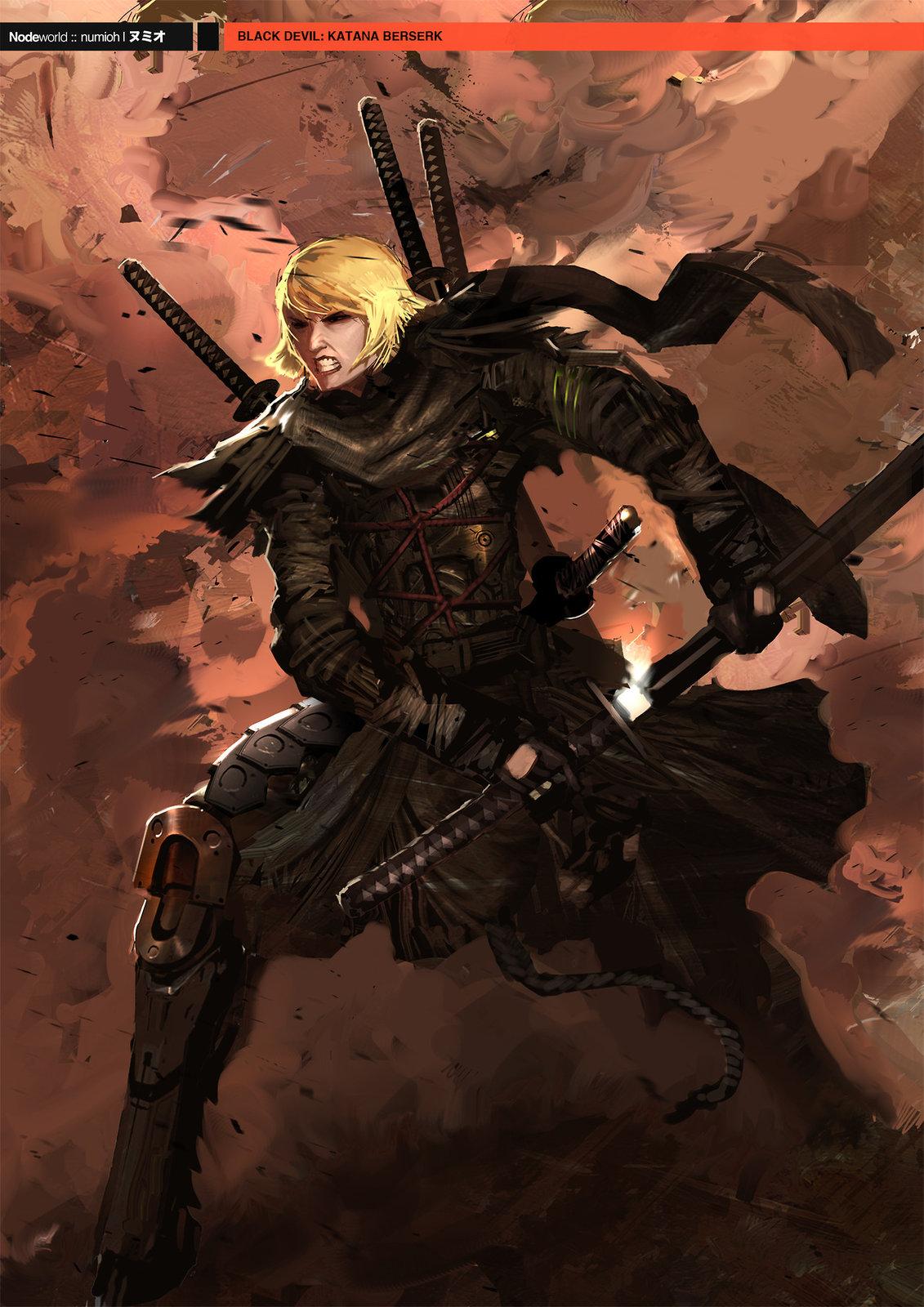 NODE WORLD : BLACK DEVIL MASK