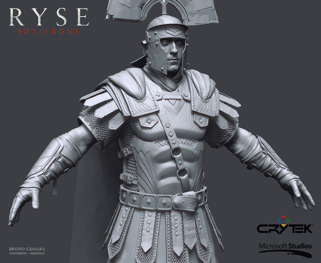 Bruno camara centurion high close