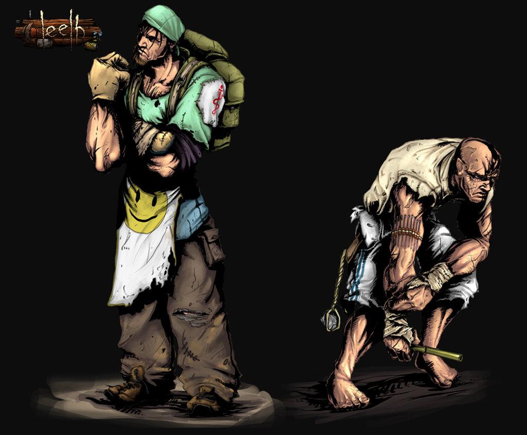 Leelh - Character design